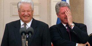 Președintele rus care s-a îmbătat și a început să alerge gol prin Washington