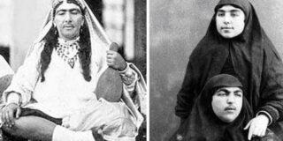 Cum arătau femeile din haremul șahului din Persia în secolul al XIX-lea