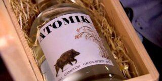 """Vodca """"ATOMIK"""" produsă la Cernobîl a fost confiscată de autoritățile ucrainene"""